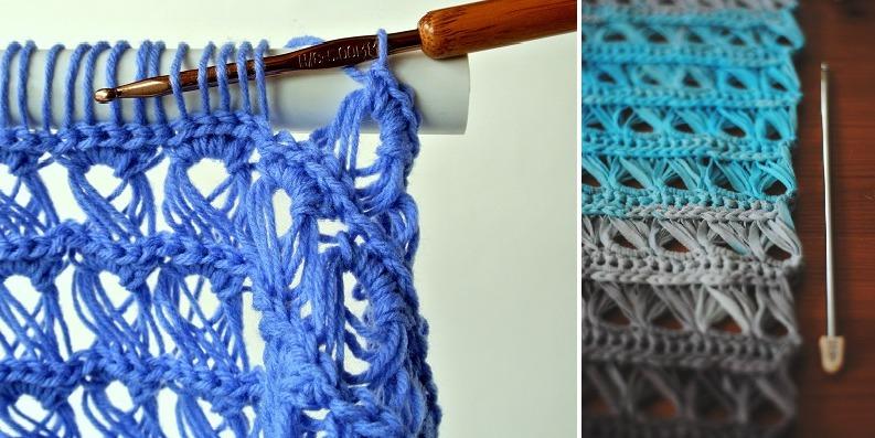 Примеры ручного вязания в перуанской технике