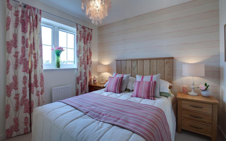 пошив штор для спальни дизайн фото