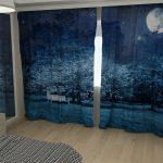 пошив штор для спальни идеи фото