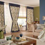 прованс шторы в современной гостиной