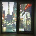 Рулонные шторы можно сделать с 3D рисунком из любимого города
