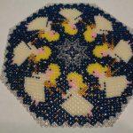 салфетки из бисера фото декора