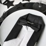 сервировка стола салфетками оформление фото