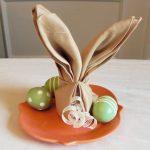сервировка стола салфетками оригами дизайн