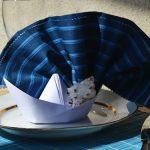 сервировка стола салфетками оригами фото оформления