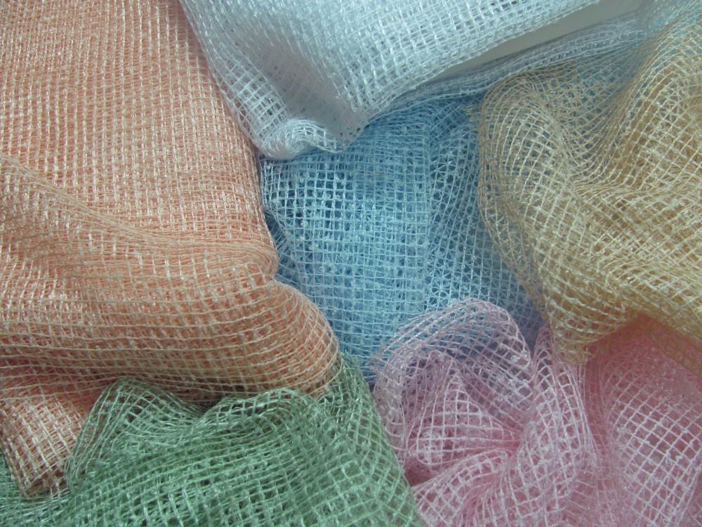 Примеры тюля-сетки в квадратную клетку