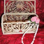 шкатулка из джута декор идеи