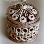 шкатулка из джута идеи декора