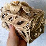шкатулка из джута своими руками как сделать