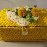 шкатулка вязаная крючком фото декора