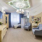 Дизайн гостиной в стиле современной классики