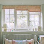 короткие шторы до подоконника в спальню идеи дизайна