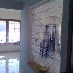 шторы из бусин дизайн фото