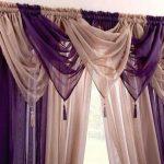 шторы из вуали