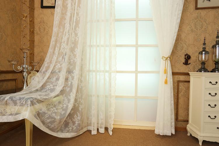 шторы из вуали декор фото