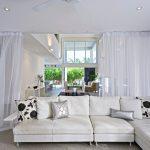 шторы из вуали дизайн фото