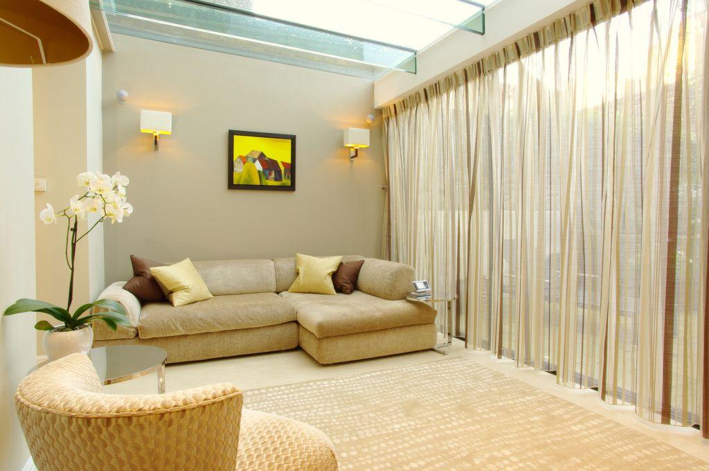 шторы из вуали дизайн интерьера