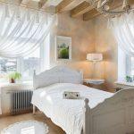 шторы в интерьере спальни дизайн идеи