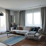 шторы в современной гостиной фото интерьер
