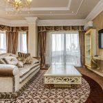 шторы в современной гостиной идеи дизайн