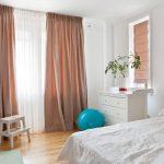шторы в спальню интерьер дизайн