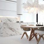 шторы для кухни в стиле минимализм идеи