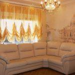 современные шторы в гостиную дизайн идеи