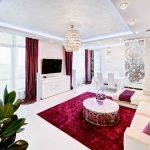 современные шторы в гостиную фото дизайн