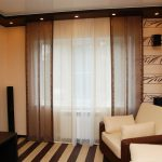 современные шторы в гостиную идеи дизайна