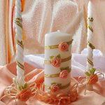 свадебные свечи фото дизайна