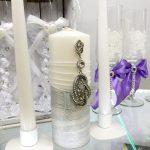 свадебные свечи фото оформления