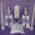 свадебные свечи идеи фото