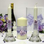 свадебные свечи идеи оформления