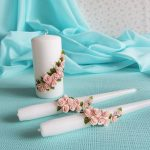свечи на свадьбу фото декор