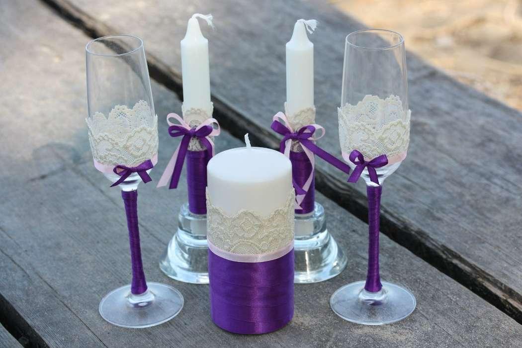 свечи на свадьбу фото дизайна