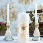свечи на свадьбу фото идеи
