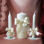 свечи на свадьбу идеи оформление