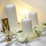 свечи на свадьбу оформление фото