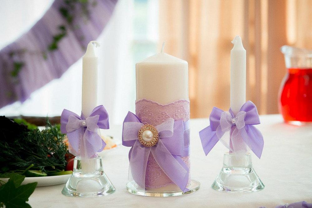 свечи на свадьбу варианты фото