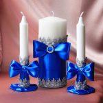 свечи на свадьбу варианты идеи