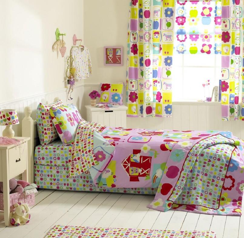 Выбор текстиля для оформления детской комнаты