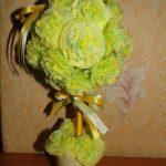 топиарий из салфеток своими руками фото декора