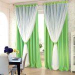 шторы из вуали в интерьере