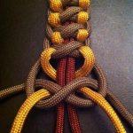 Плетение элемента веревочной шторы своими руками