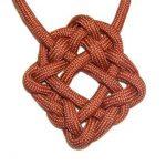 Красивый орнамент из обычной веревки своими руками