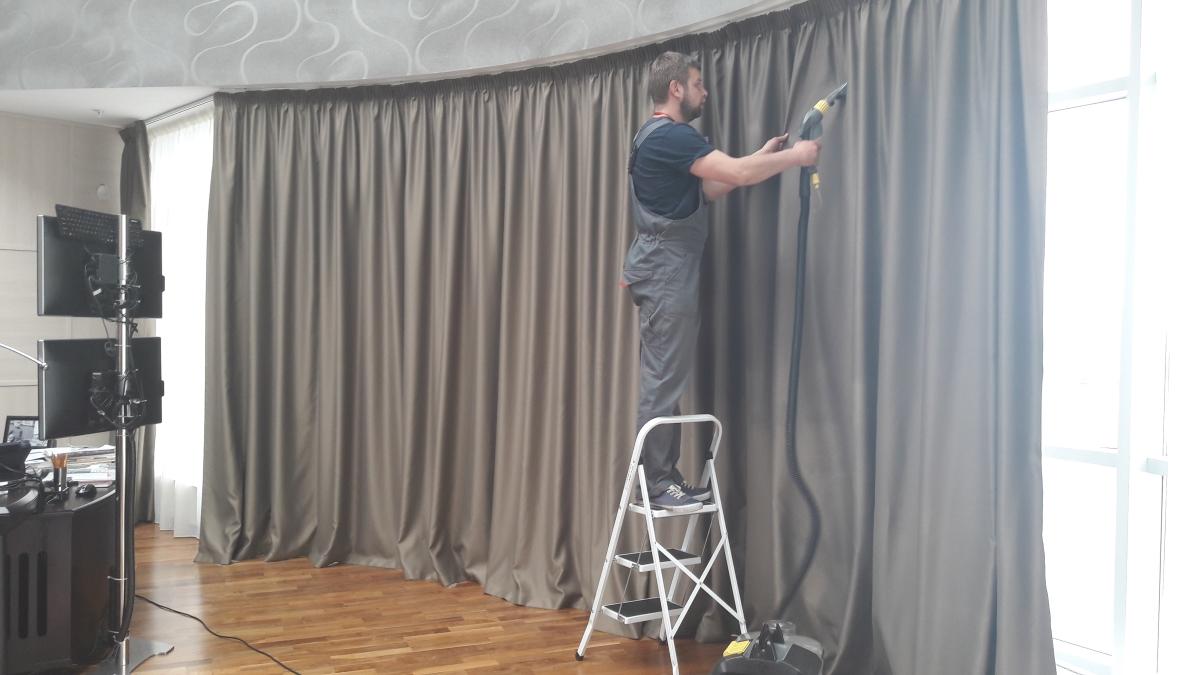 химчистка штор обзор