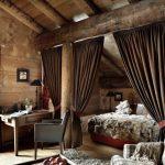зонирование комнаты шторами идеи дизайн