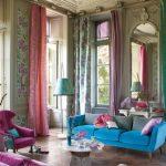 дизайн штор для гостиной интерьер