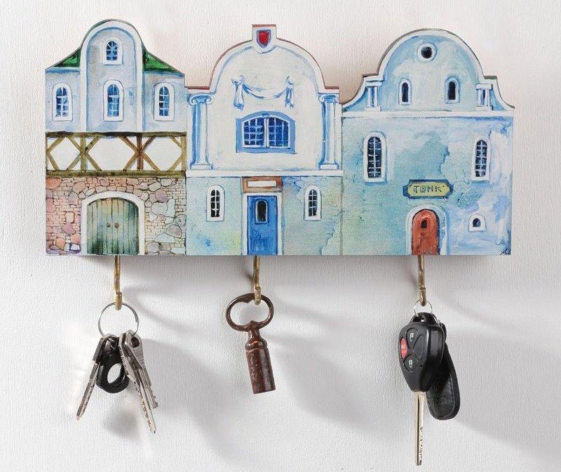 ключница домики