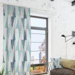 необычные шторы дизайн интерьера